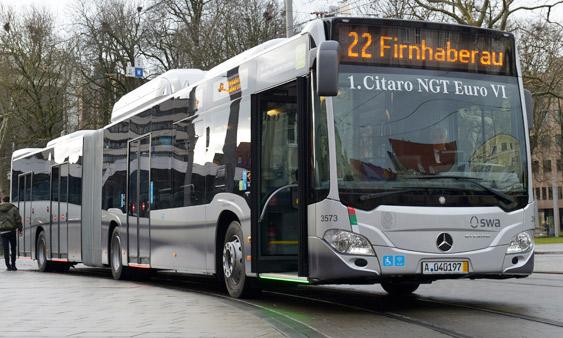 nahverkehr augsburg setzt neue busse ein ich fahr. Black Bedroom Furniture Sets. Home Design Ideas