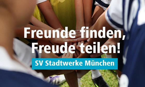 Sport mit Kollegen – im Sportverein der Stadtwerke München